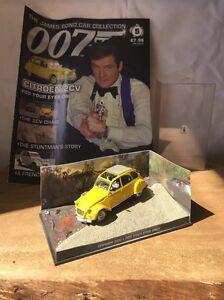 007-James-Bond-Auto-RACCOLTA-N-5-CITROEN-2CV-solo-per-i-tuoi-occhi