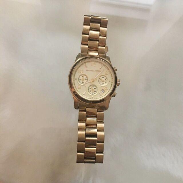 bc5af46313f0 Michael Kors Women s Runway Gold Chronograph Watch - MK5055