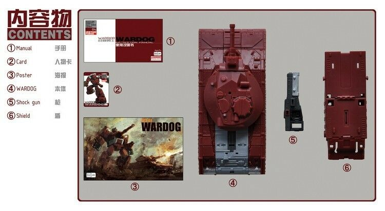 Badcube BC TF OTS-04 wardog, notification de réapprovisionnement