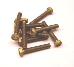 DIN 933 Sechskanschrauben in Messing blank M5 x 30 mm 10 Stück II.WAHL - Lychen, Deutschland - DIN 933 Sechskanschrauben in Messing blank M5 x 30 mm 10 Stück II.WAHL - Lychen, Deutschland