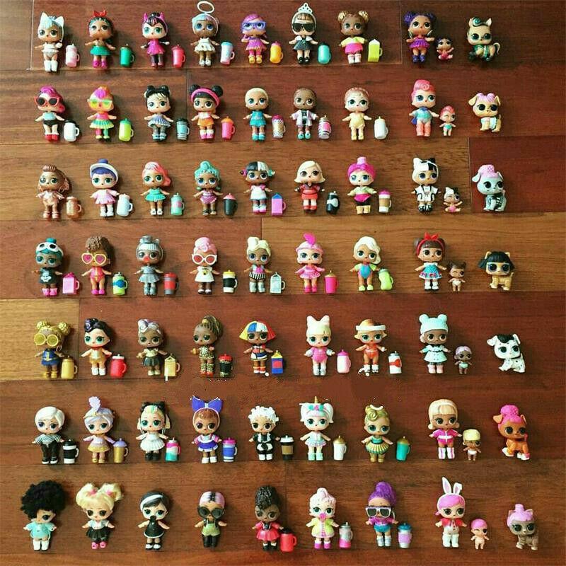 1000 stilar LOL Surprise Doll Punk Boi Boy Unicorm GLITTER QUEN Leksaker samla UK