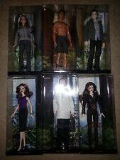 10 twilight dolls:bella,edward,jacob,carlise,esme,,jane,alice,victoria,rosalie