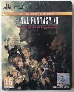 Final-Fantasy-XII-12-the-Zodiac-Age-steelbook-edition-Sony-PS4-Neuf-PAL-FR