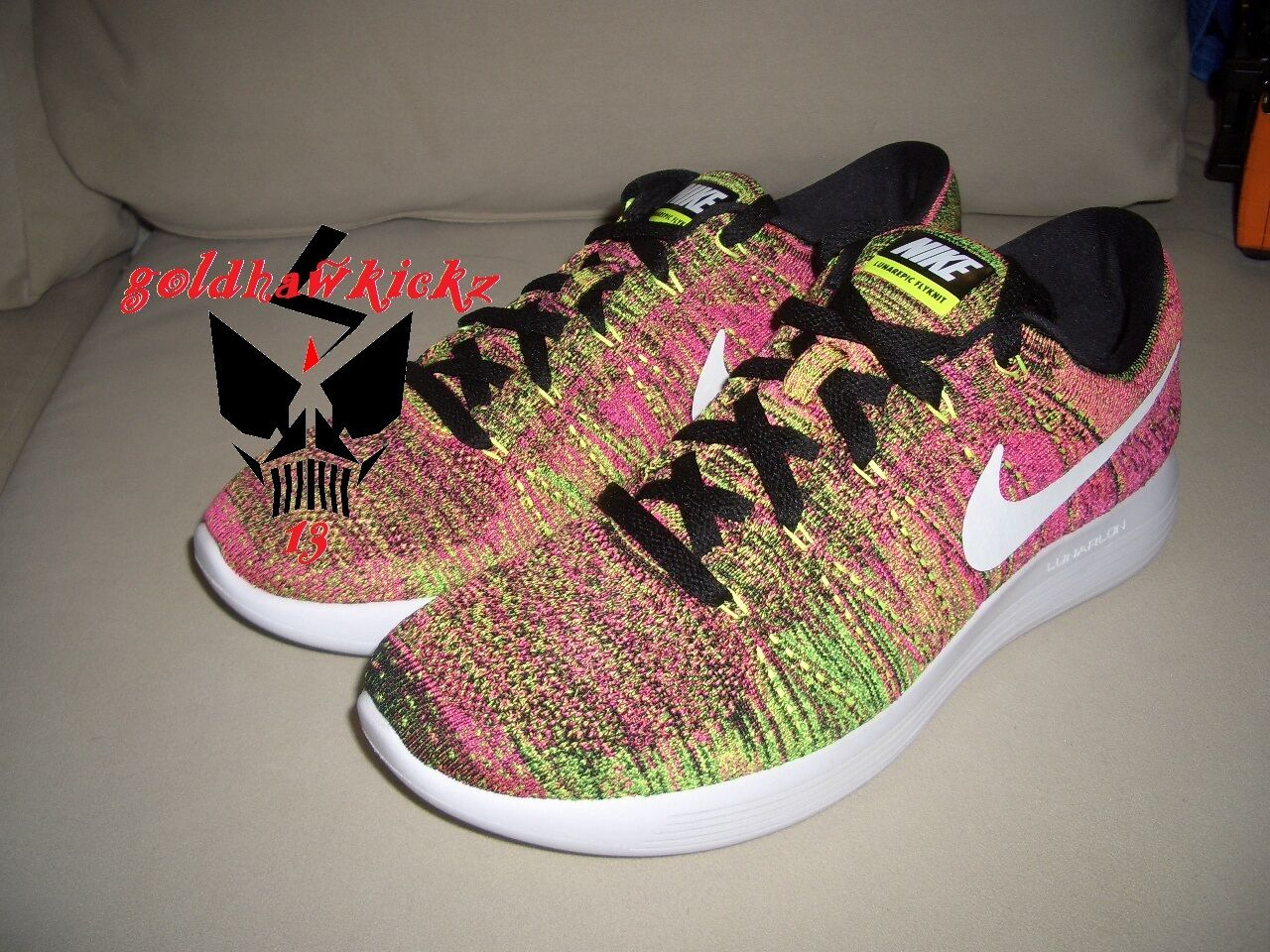 NIKE LunarEpic low flyknit OC unlimited olympic 844862-999 MC multicolor RIO QS