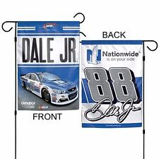 Nascar Dale Earnhardt Jr #88 Nationwide Hendrick 12 x 18 2-Sided Garden Flag