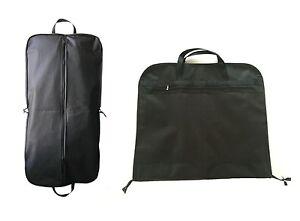 Black-44-034-Large-Suit-Carrier-Garment-Cover-Travel-Bag-Strong-Nylon-Foldable-NEW