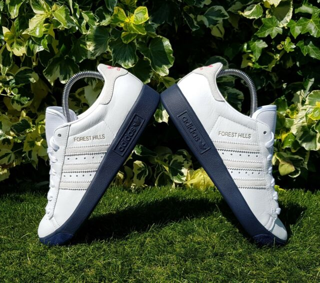 BNWB & Authentic adidas originals ® Forest Hills Retro White Trainers UK Size 10