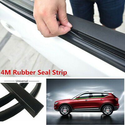 4M Car Left//Right Door Window Abnormal Noise Edge Moulding Seal Strip Rubber New