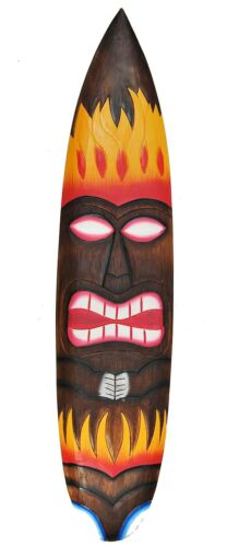 Tiki Surfboard 100cm Wall Board Decor Tiki Surf Board Lounge South Seas Hawaiian