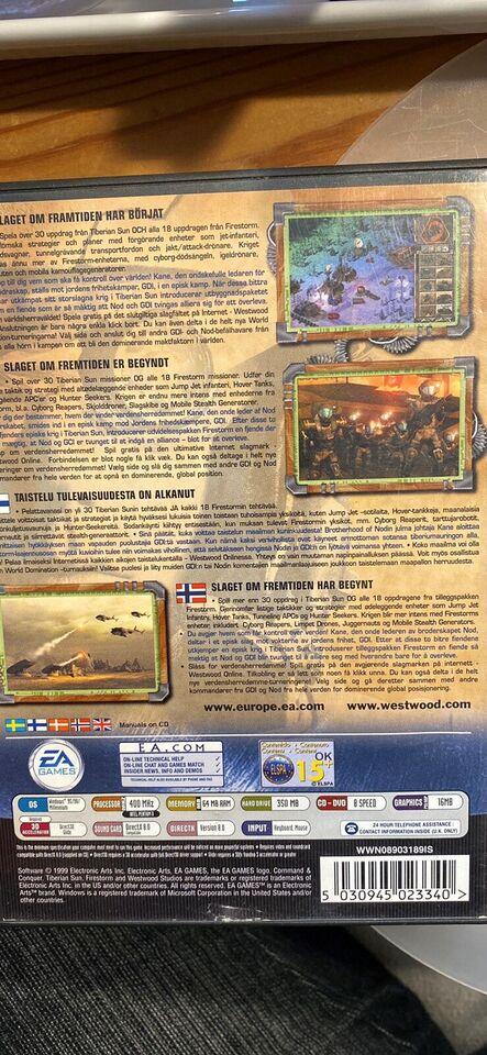 Tiberian Sun, Command & Conquer, til pc