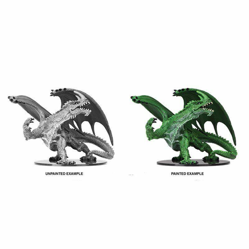 Wizbambini Gargantuan verde  Dragon - miniatura drago verde cod. WZK73531  consegna lampo