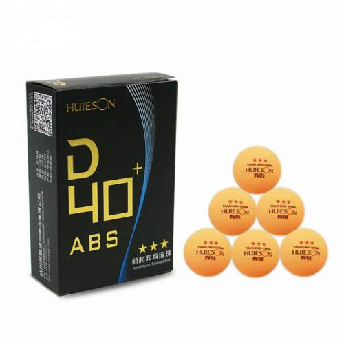 3 Star D40+mm New Material ABS Table Tennis Ping Pong Ball Sport Training Balls