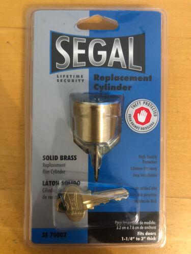 Segal Replacement Door Cylinder Solid Brass SE70002
