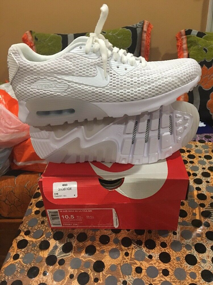 2e0769bddf35 Official Nike W Air Max 90 Ultra BR Shoes (725061-104) (725061-104) (725061- 104) Women s Size (10.5) 130 b7640b