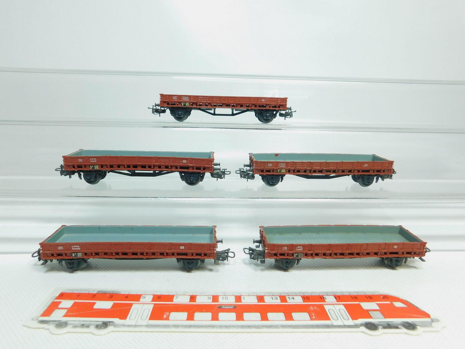 Bm29-1 x MÄRKLIN H0 AC 4606 Low-Sided Wagon Freight Car Rmms 33 313 1 dB