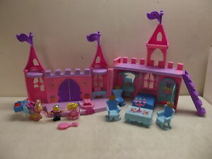 fisher price little people dance n twirl palace castle 100 complete