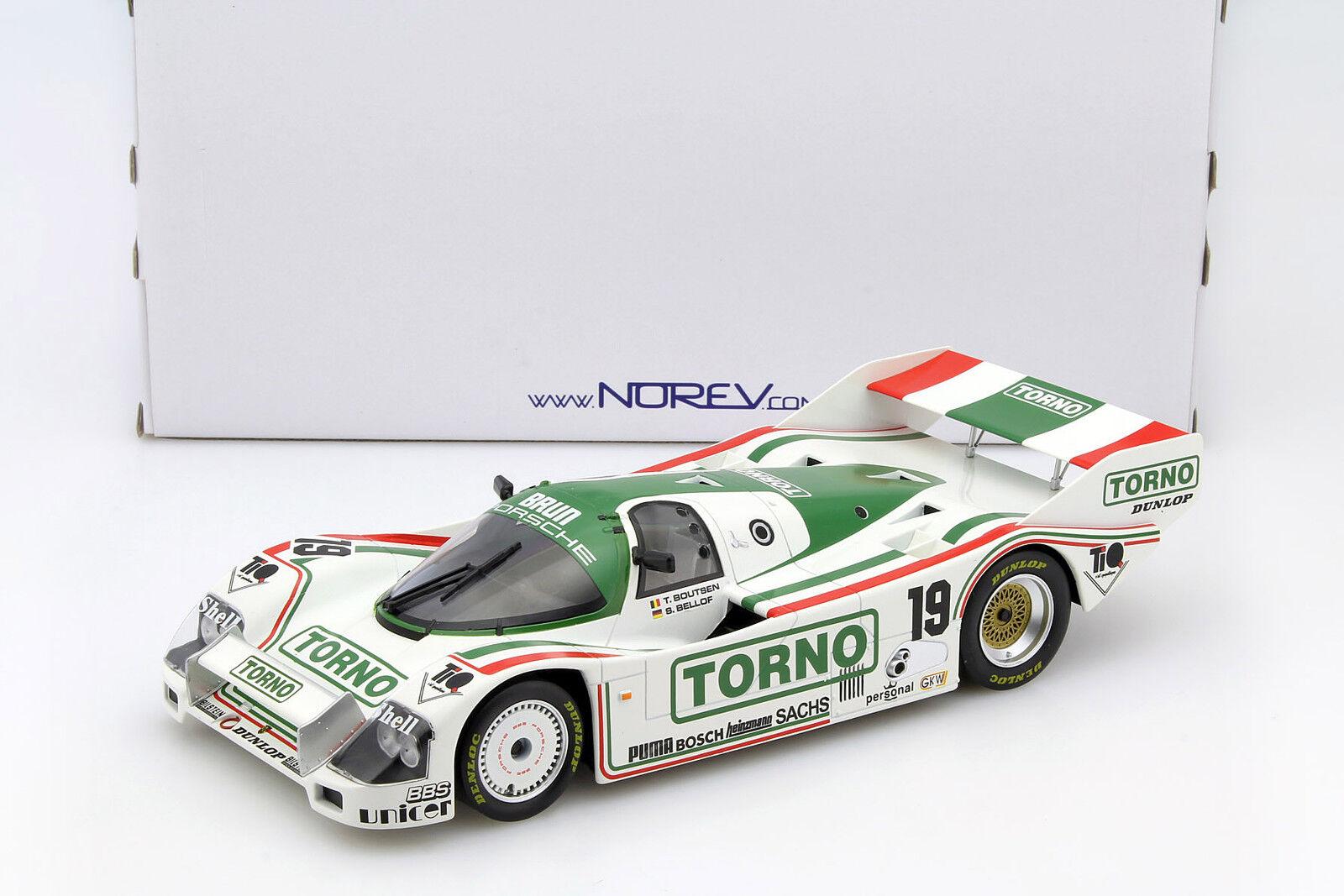Porsche 962 C rd 1000km 1985 mugello Bellof, Boutsen 1 18 norev
