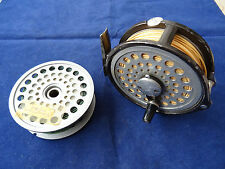 """A VINTAGE INTREPID GEARFLY 3 9/16"""" (APPROX) FLY REEL WITH SPARE SPOOL"""