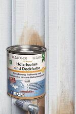 Jaeger Kronen Holz Iso-Deckfarbe seidenglanz 0,75l Isolierfarbe Holzdeckenfarbe