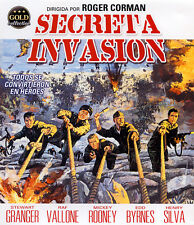 SECRETA INVASION (BLU-RAY DISC BD PRECINTADO) STEWART GRANGER - SEGUNDA GUERRA M