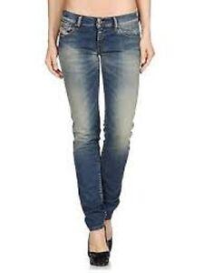 Diesel-Jeans-myboy-regular-slim-straight-wear-women-low-waist-wash-0818f-W23-L34
