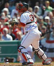 Jarrod Saltalamacchia 2013 World Series Champion Red Sox Signed 8x10 Photo COA