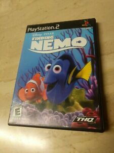 Disney Pixar Finding Nemo PlayStation 2 PS2