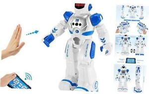 RC Robot Toy for Kids Boys Smart Programmable Remote Control Robots Infrared