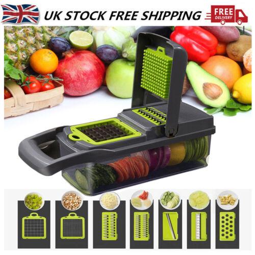 7 In1 Food Vegetable Salad Fruit Peeler Cutter Slicer Dicer-Chopper Kitchen Tool