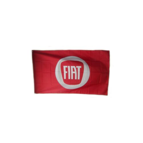 Racing Flag new For Fiat Garage Banner