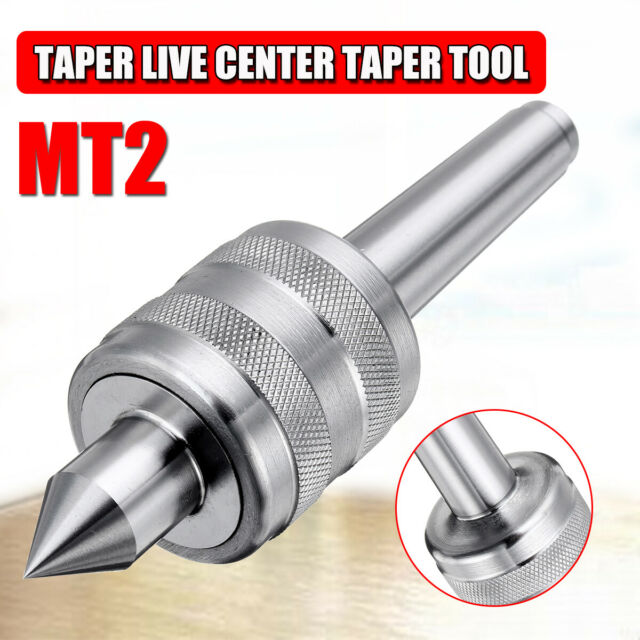MT1 Live Center Precision Taper Triple Bearing Lathe Turning Rotary Tool