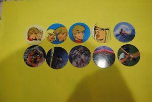 070 Pogs Pog Caps Milkcaps Flippo : Lot De 10 Skippies