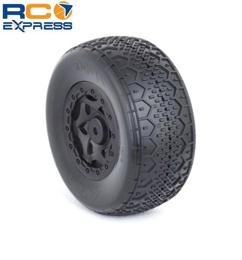 AKA Racing SC Deja Vu Vu Vu Wide Ultra Soft Tire Red Insert  SC10 4X4 AKA13018WRF 493d3e