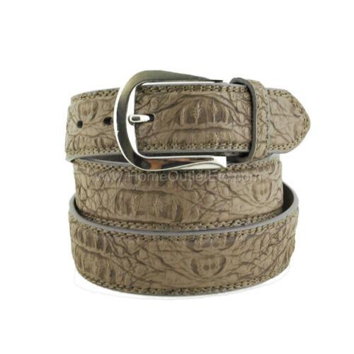 Faux Alligator Leather Dress Belt Unisex Womens Textured Animal Crocodile Croc