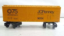 LIONEL 6-9054 75th Anniversary JCPenny Boxcar Freight RARE MOLD WOW LN