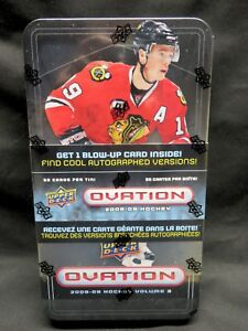 2008-09-Upper-Deck-OVATION-NHL-HOCKEY-Factory-Sealed-TIN-Stamkos-RC