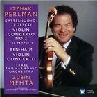 """Castelnuovo-Tedesco: Violin Concerto No. 2 """"The Prophets""""; Ben-Haim: Violin Concerto (2015)"""