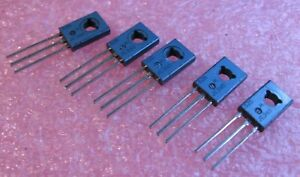 JE340-Motorola-NPN-Silicon-Si-Transistor-5A-300V-Tinned-Leads-NOS-Qty-5
