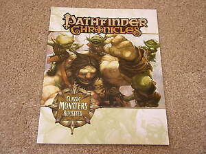 Chronicles Monsters Paizo Revisited Pathfinder Classic accessory 5qSgTaHg