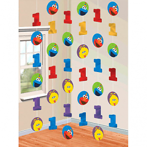 Sesame-Street-Elmo-Fun-to-be-One-1st-Birthday-Foil-String-Decoration-7ft-Long