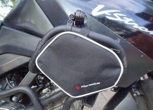 SUZUKI-DL-V-STROM-650-Crash-bar-bags-luggage-panniers-fit-KAPPA-GIVI-crash-bars