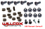 34109B 68-75 Corvette Weatherstrip Fastener Kit NEW Convertible Top CORRECT