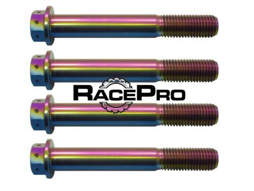 Suzuki GSXR750 K5 4x RacePro Rainbow Race Drilled Titanium Caliper Bolt