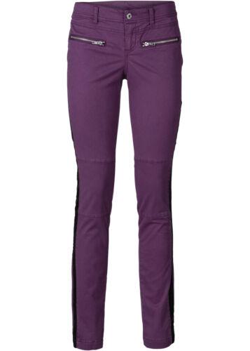 Élégant pantalon dans weinbeere-Taille 36-q419-960995