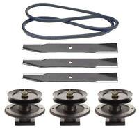 Toro 52 Z Master Mower Deck Rebuild Kit Spindles Blades Belt Free Shipping