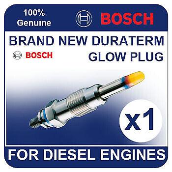 GLP002 BOSCH GLOW PLUG VW Transporter 1.6 Diesel Turbo 84-92 JX 68bhp