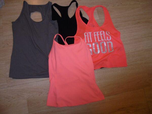 (4) Da Donna Atletica Fitness Active Abbigliamento Assortiti, Colori & Marche Vendite Economiche 50%