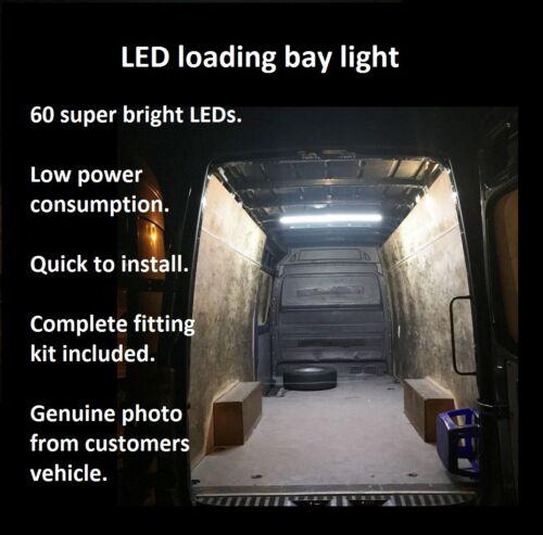 Vauxhall Vivaro Van Interior LED Rear Loading Light Kit 1.9 2.7 SWB LWB CDTi DTi
