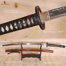 Top Quality Japanese Katana Sword T10 Steel Clay Tempered Battle Ready Sharp
