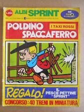 ALBI SPRINT n°4 1970 POLDINO SPACCAFERRO  [G503]